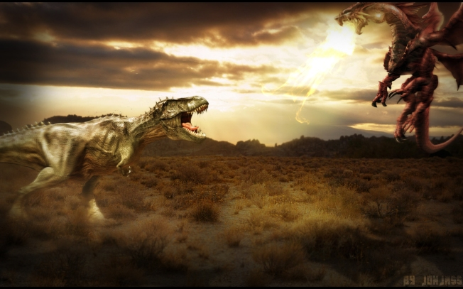 dinosaurs_vs__dragons__by_jonjassgraphics-d566szp